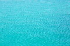 浅兰的顶面海视图 图库摄影