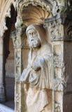 浅浮雕在Jeronimos修道院里 免版税库存图片