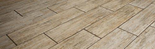 浅灰色的木条地板无缝的样式-构造连续的复制品的样式 免版税库存照片