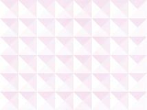 浅粉红色的四角锥纹理背景几何样式 免版税图库摄影