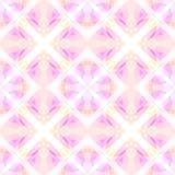 浅粉红色的现代抽象纹理 详细的背景例证 无缝的瓦片 万花筒作用 家庭装饰织品设计 库存照片