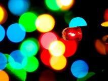 浅红色的圣诞节 库存图片