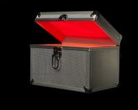 浅红色的配件箱 库存图片