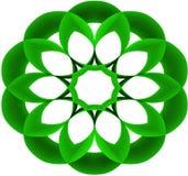 浅绿色的圆的传染媒介 库存照片