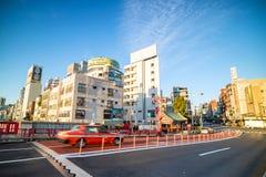 浅草区看法在东京,日本 图库摄影