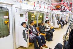 浅草和东京天空树的旅客 免版税库存照片