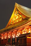 浅草寺庙在东京日本 免版税库存图片