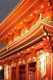 浅草寺庙在东京日本 免版税图库摄影