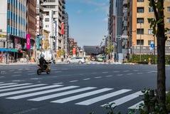浅草市scape 免版税库存图片