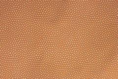 浅褐色的皮革背景 免版税库存照片