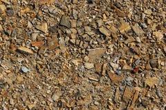 浅褐色的石头 免版税图库摄影