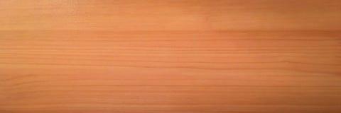浅褐色的软性涂了清漆木纹理表面作为背景 难看的东西洗涤了木板条桌样式顶视图 图库摄影