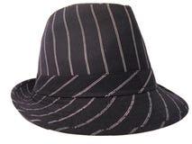 浅顶软呢帽帽子 免版税库存图片