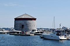 浅滩塔,金斯敦,安大略,加拿大 免版税库存照片