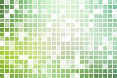 浅绿色的在白色的树荫偶尔的不透明马赛克 库存图片