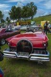 1957浅滩fairlane 500敞篷车 库存图片