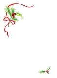 浆果圣诞节 库存照片