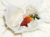 浆果奶油 库存照片