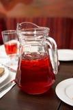 浆果水罐汁液 免版税库存图片