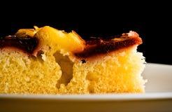浆果盘胡说的饼白色 免版税图库摄影
