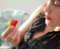 浆果红色成熟 库存图片