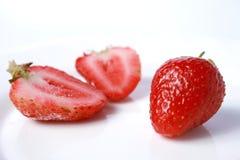 浆果草莓 免版税图库摄影