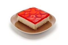 浆果蛋糕 免版税库存照片