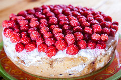 浆果食物果子饼莓甜点 免版税库存照片