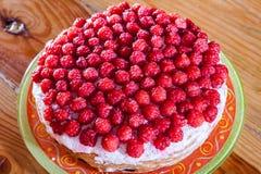 浆果食物果子饼莓甜点 免版税库存图片