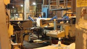 黏浆状物质和纸磨房在欧洲 影视素材