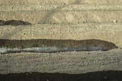 浇灌土壤 免版税库存照片