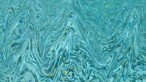 浇灌在水池的波纹样式在晴天 图库摄影