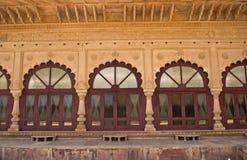 浇灌宫殿,德埃格,拉贾斯坦,印度 免版税库存照片