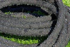 浇灌的水管03 免版税图库摄影