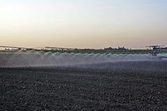 浇灌的领域 图库摄影
