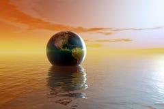 浇灌world4 免版税图库摄影