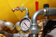 测压器。 免版税库存图片