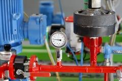 测压器压 免版税库存图片