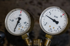 测压器 免版税库存照片