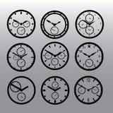 测时器手表拨eps10 免版税库存照片