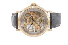 测时器金子做富有的瑞士 免版税库存照片