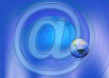 测试与互联网的世界 免版税图库摄影