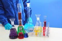 测试化验实验室化学产业 图库摄影