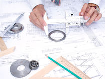 测试工具 免版税图库摄影