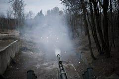 测试新的BTR-3 基辅乌克兰 库存照片