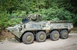 测试新的BTR-3E 库存照片