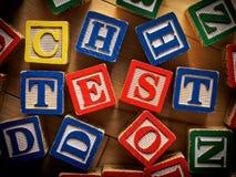 测试概念 免版税库存图片