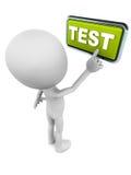 测试演习 库存例证