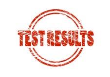 测试结果红色不加考虑表赞同的人 免版税库存图片