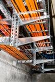 测试缆绳路由器 库存图片